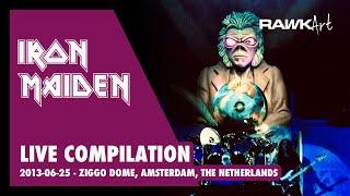 Iron Maiden - Ziggo Dome, Amsterdam, The Netherlands 2013 06 25
