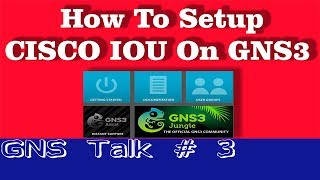 GNS3 Talk 3 # How to setup IOU on GNS3 & Virtual box installation  in Hindi