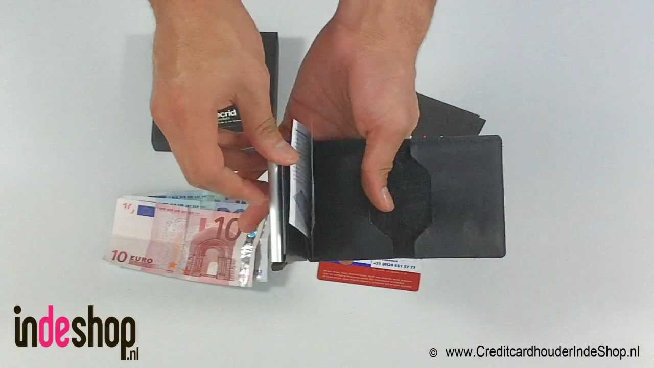582d07c2b0d Creditcardhouder - Secrid Slim Wallet - Pasjeshouder - YouTube
