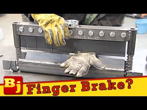 Turn Your Harbor Freight Press Into a Finger Brake