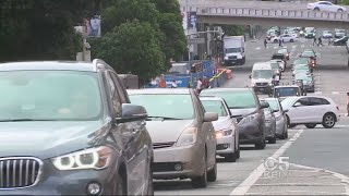 CONGESTED COMMUTE:  MTC study finds commuters spending more time on Bay Area freeways