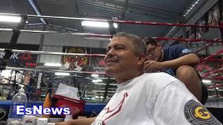 The Big G Got 3 Phone Lines He Explains Why EsNews Boxing