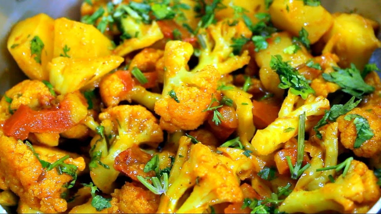 Cauliflower Recipe | Aloo Gobi Recipe | Healthy Vegetable ...