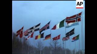 FLAGS OF ALL NATIONS - NO SOUND - COLOUR