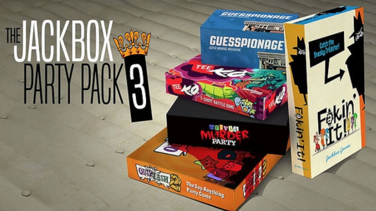 Jackbox 3! Grab your phones & Join! - YouTube