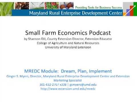 Small Farm Economics