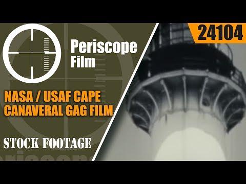"NASA / USAFCAPE CANAVERAL GAG FILM"" THE LIGHTHOUSE THAT NEVER FAILS ""24104"