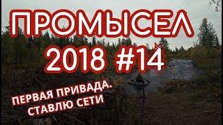 ПРОМЫСЕЛ 2018  #14   Первая привада, рыбалка, посиделки у костра!