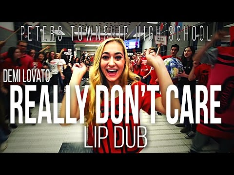 "Demi Lovato ""Really Don't Care"" Lip Dub 