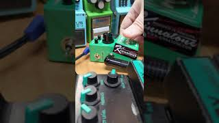 Make the TS Mini a monster pedal with Kinnatone