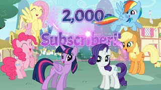 💞SPECİAL VİDEO (2,000 Subscribers): *SPECİAL FOR YOU* A Friend For Life PMV Thank You Everyone!!!💞