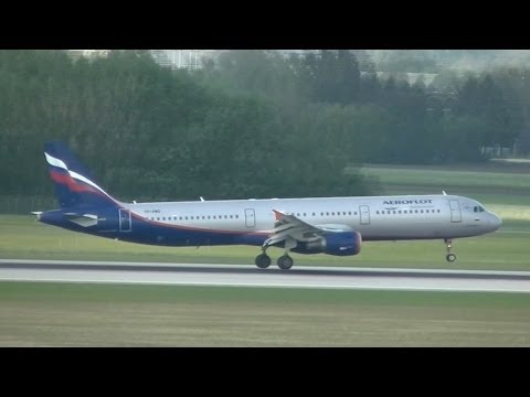 Aeroflot Airbus A-321 Flight SU2326 From Moskau-Scheremetjewo To Munich / München VP-BWO