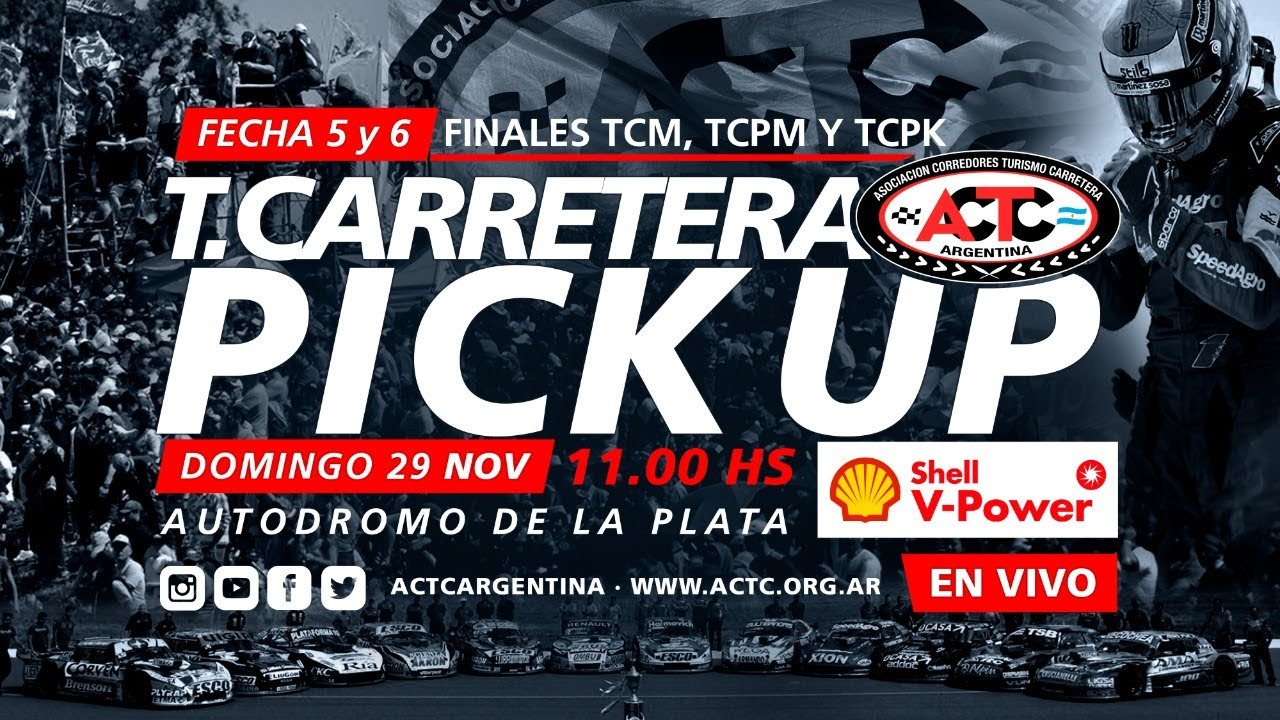 05 y 06-2020) La Plata: Domingo Finales TCM, TCPM y TC Pick Up