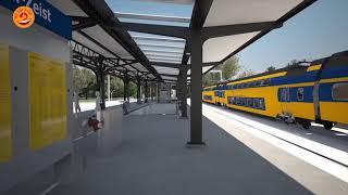 Station Driebergen-Zeist bijna klaar