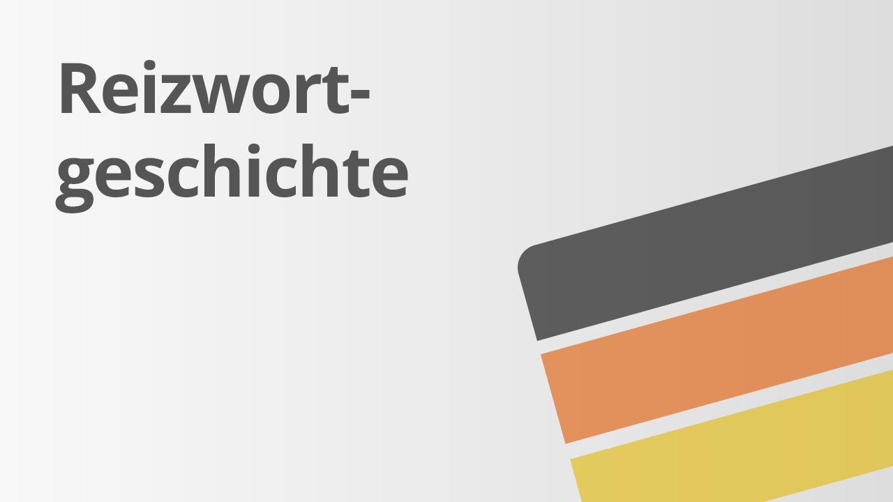 geschichten schreiben die reizwortgeschichte deutsch texte schreiben youtube - Reizworter Beispiele