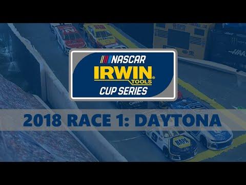 NASCAR IRWIN Tools Cup Series 2018 Race 1: Daytona