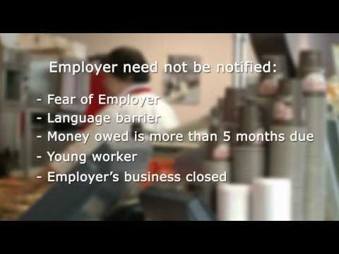 Filing An Employment Standards Complaint