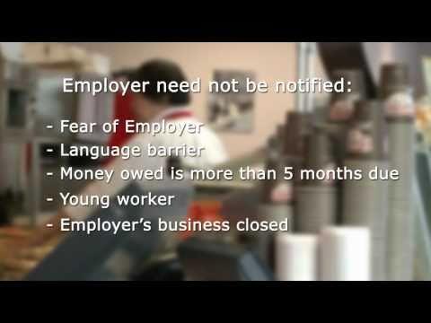 Filing An Employment Standards Complaint