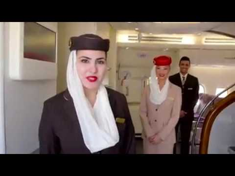 Emirates Airline A 380 Cabin Tour