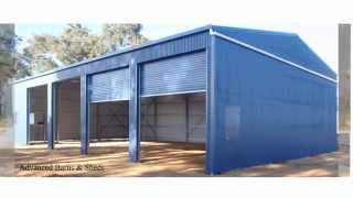 Farm and Machinery Sheds by Advanced Barns & Sheds