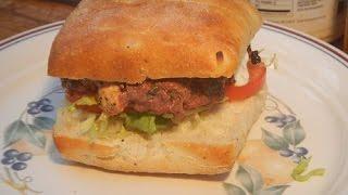 Spinach Feta Burger (killer Burger)