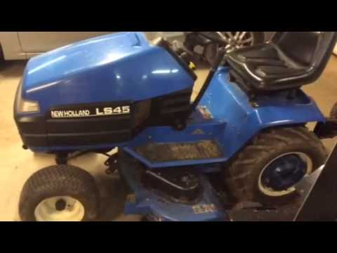 new holland ls 45 youtube rh youtube com New Holland Ford Tractor 1920 New Holland LS45 Rear Trans
