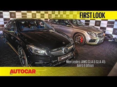 Mercedes-AMG CLA & GLA 45 Aero Edition | First Look | Autocar India