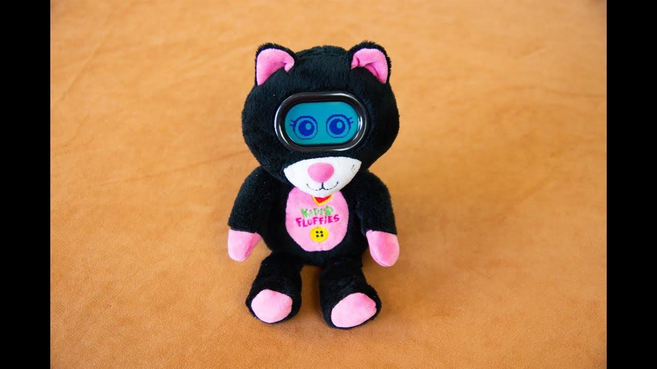 интерактивная игрушка Vtech Kidi Fluffies Cat Youtube