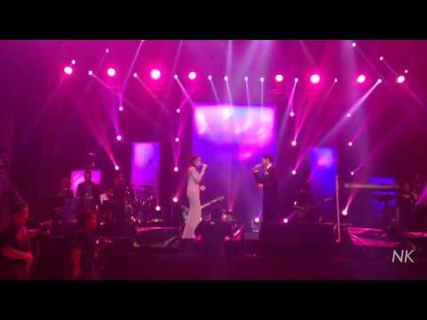 Kamu Yang Ku Tunggu - Afgan & Fazura (Afgan SIDES Concert Miri, Malaysia)