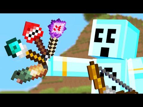 Minecraft but there's Custom Arrows