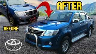 Toyota Hilux Build in 10 Minutes