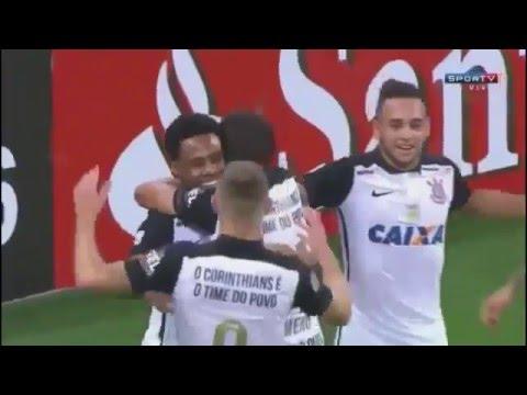 Corinthians 6 x 0 Cobresal 20/04/16