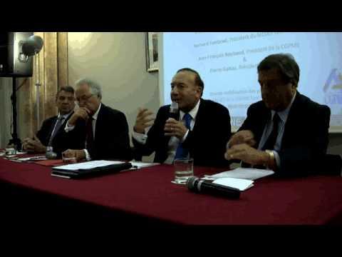 La conférence de presse commune du Medef et de la CGPME à Lyon