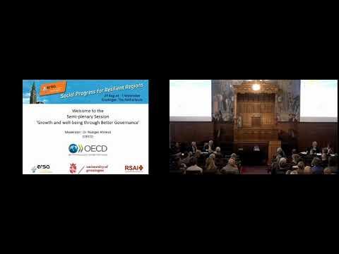 ERSA Congress 2017, Groningen - OECD Semi plenary session