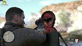 Sniper Elite 4 ☠ 13 Brutal Melee Kills ☠