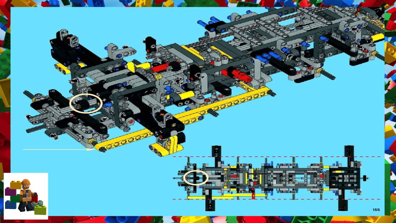 Lego Instructions Technic 42009 Mobile Crane Mk Ii Youtube