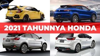 Mau Beli Mobil? ini Bocoran Mobil Terbaru Honda yang Bakal Masuk Indonesia di Tahun 2021