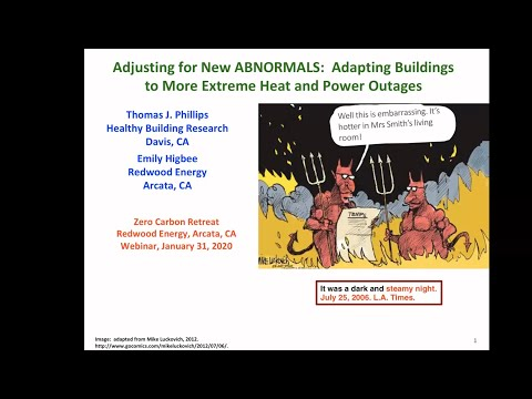 Thomas Phillips, HBI, New Abnormal: Adapting Buildings To More Extreme Heat And Power Outages