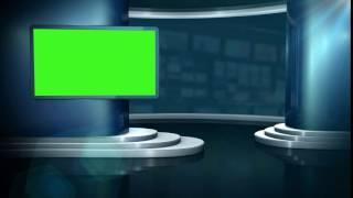 tv background studio greenscreen