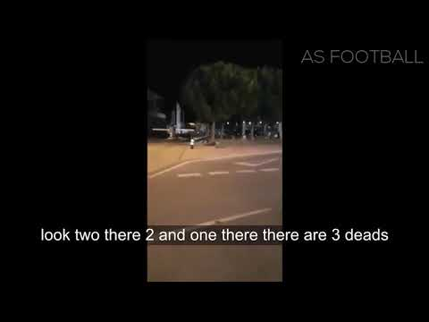 Defend Europe - The moment of the terrorist attack Cambrils (Spain)