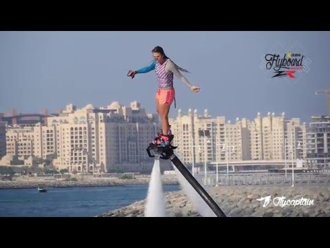 Flyboard Madness with Gemma Weston World Champion