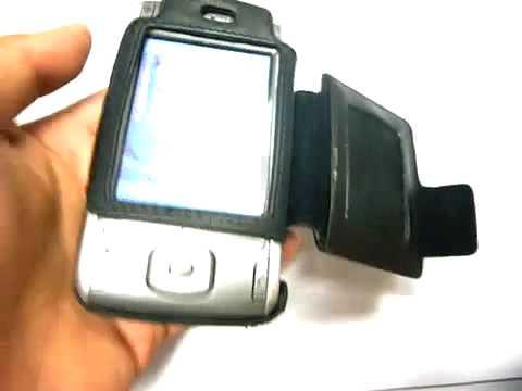 Capa de couro Premium Full proteção para Cingular 8125 VPA Compact II Dopod 838