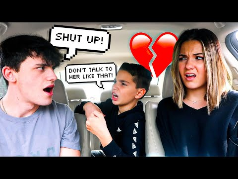 Telling My Wife To SHUT UP In Front Of Her LITTLE BROTHER!