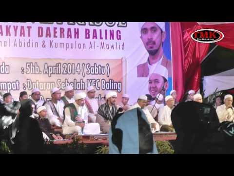 """Part 1 """"Malam Cinta Rasul"""" Baling, Kedah"""