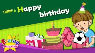 Скачать Theme 6 Happy Birthday This Is For You Thanks ESL Song Story Learning English For Kids