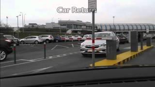 Hertz car return Hungary airport