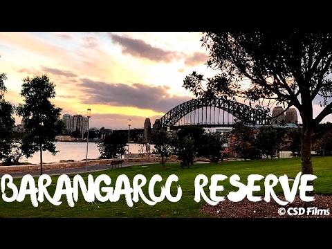 Barangaroo Reserve   Sydney Harbour   Drone Footage