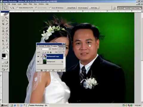 Lop photoshop-Ghep anh nen den (2) HocPhotoshop.Com