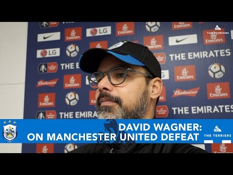 WATCH: David Wagner on the Emirates FA Cup defeat to Manchester United
