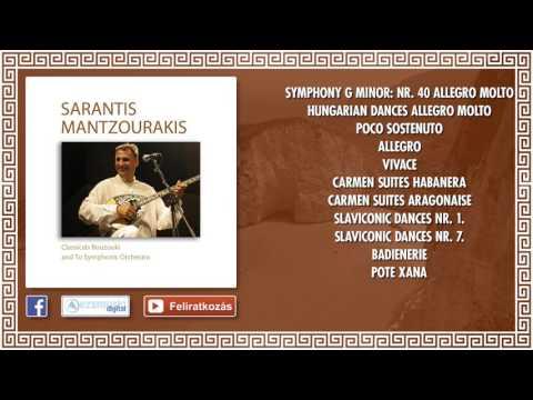 ✮ Sarantis Mantzourakis ~ Classical bouzouki and to symphonic orchestra   Traditional Greek Music  